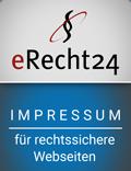 eRecht24 Impressum Siegel