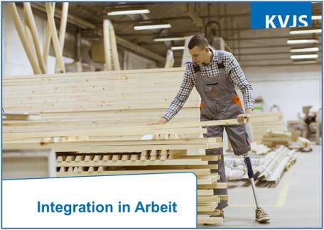 kvjs integration in arbeit
